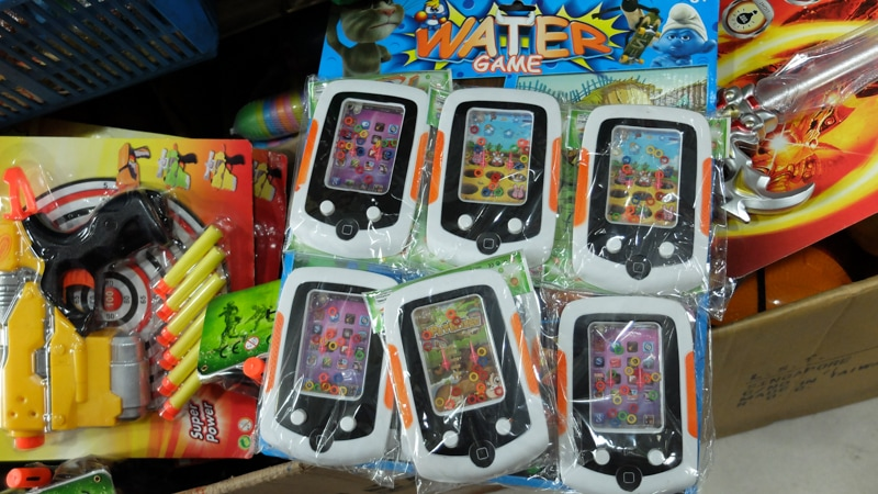 Er... what do you call it? Water game devices?