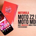Motorola Moto Z2 Play and Moto Mods Review