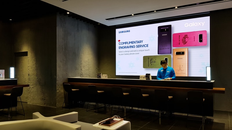 Samsung Experience Store 8