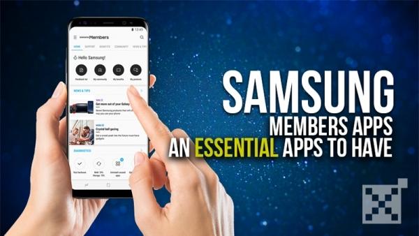 Samsung Members Apps