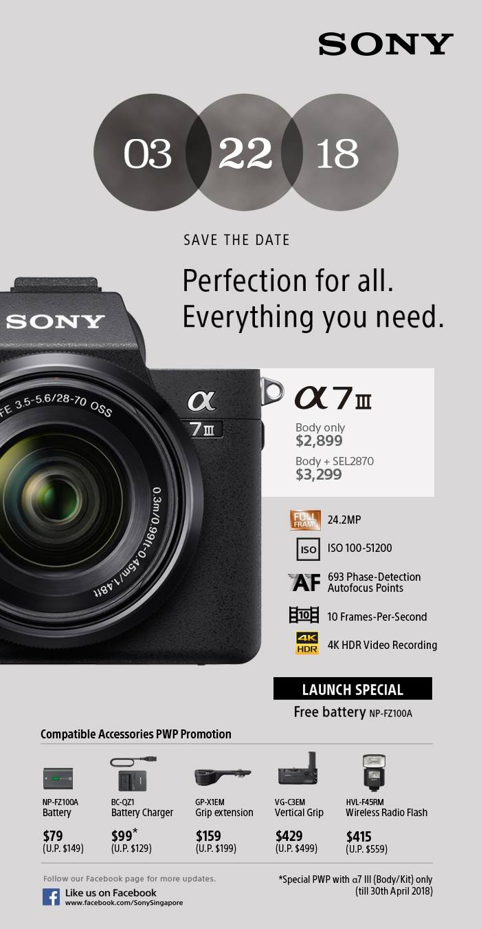 Sony A7III Preview Launch - In my own words