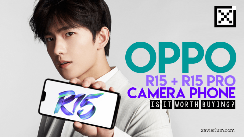 Oppo R15 and R15 Camera Phone Launch