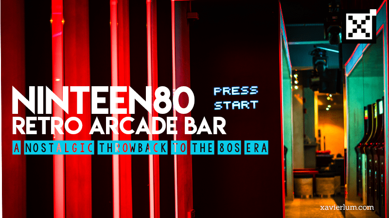 NINTEEN80 – 80s Pop Culture Concept Chill Out Bar