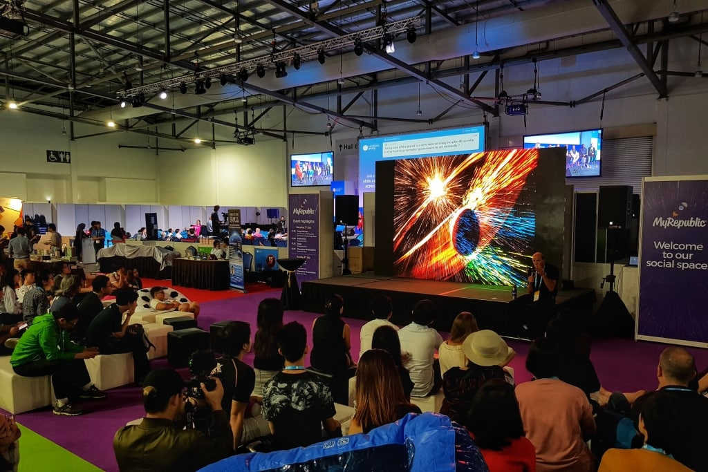 Campus Party Singapore 2018 - Gathering of Innovators, Visionaries, Businesses and more 1