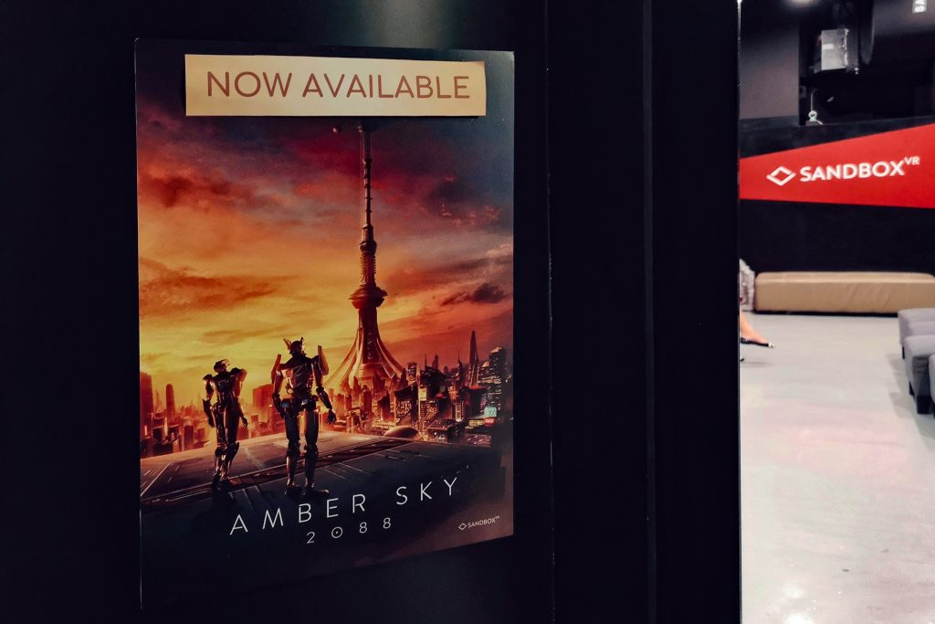 New Amber Sky 2088 released by Sandbox VR